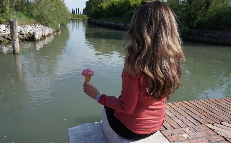 Gelato in Torcello