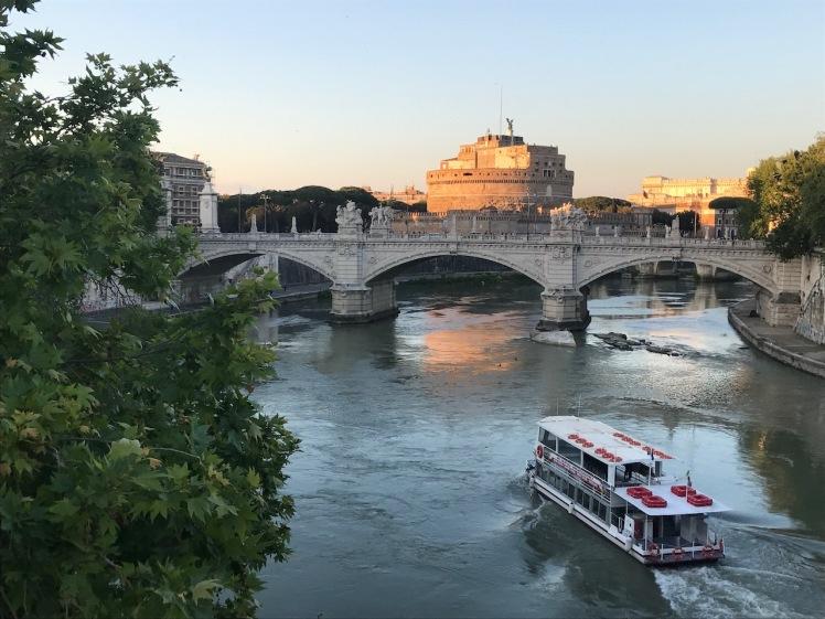 Tiber River Italia