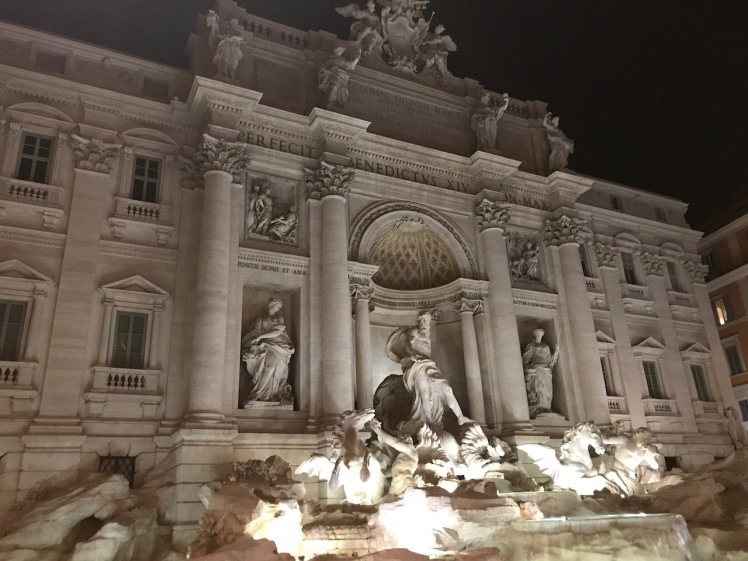 Trevi Fountain Italia